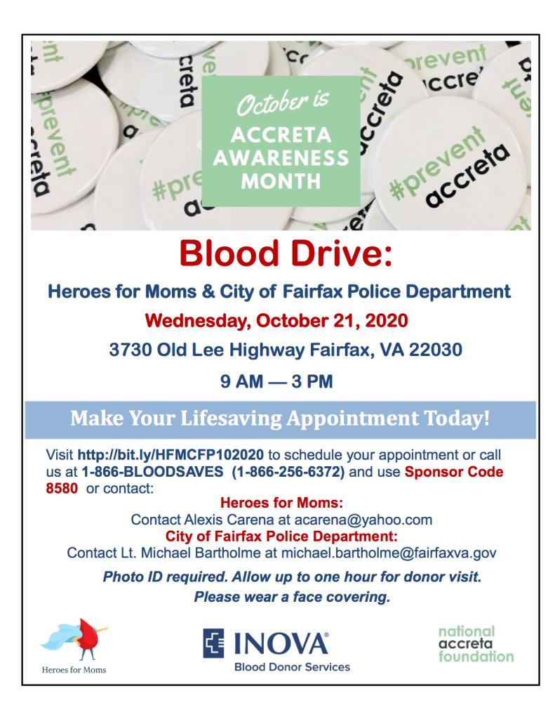 Accreta Blood Drive